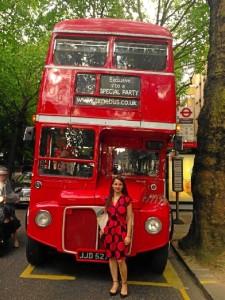 Elena Cuesto reside en Inglaterra desde el año 2007.