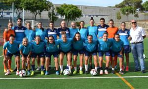 El nuevo Sporting 2015-16 se da a conocer este miércoles en Holea. / Foto: www.sportingclubhuelva.com.