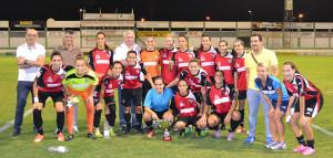 El equipo onubense cerró la pretemporada con un triunfo ante el Betis en Pozoblanco.