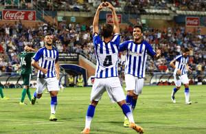 Firmar el primer triunfo en casa, objetivo del Recre ante el Sevilla Atlético. / Foto: Josele Ruiz.