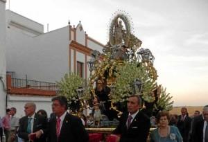 La Virgen de los Milagros saldrá en procesión por las calles de la localidad el 15 de agosto.
