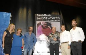 Presentación de la obra, 'Y al fondo, Ayamonte'.