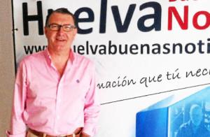 El alcalde de Villablanca ha visitado la redacción de Huelva Buenas Noticias.