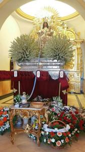 La procesión de la Virgen de Clarines será esta noche.