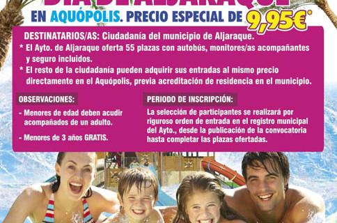 Aljaraque organiza una excursión al parque acuático de Cartaya