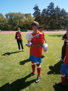 Jesús jugó y ganó la Diabetes Junior Cup 2013 en Suiza.