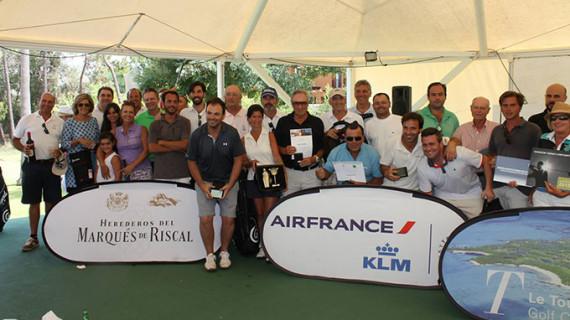 María Dolores Lerchundi, vencedora absoluta de la prueba del Circuito Corporate Golf celebrada en Islantilla