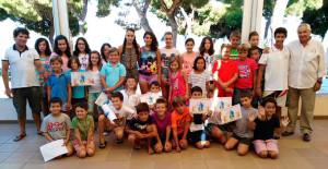 El Club Deportivo Náutico Punta Umbría clausuró sus cursos de vela de verano.