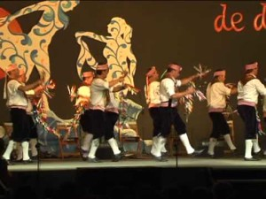 La programación comienza con la Danza de los Plos de Villablanca.
