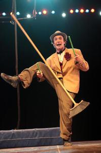'Magic and Circus', gala en Ramallah.