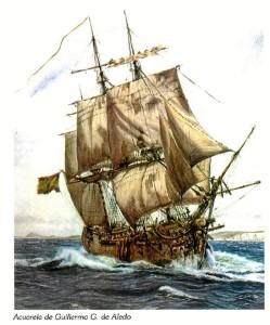 El Rayo es una embarcación muy emblemática de la historia naval española.