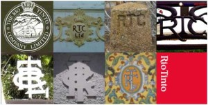 Fotocomposición realizada de algunas de las huellas de la RTCL en la provincia. Fuente: FieldworkRiotinto.