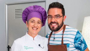 Eva Arguiñano, con Raúl Rebollo. / Foto: Hogarmanía.