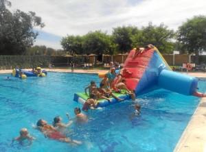También hubo actividades para los niños.