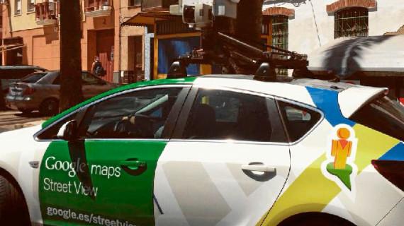 Google Maps y Google Street View actualizan las imágenes disponibles de Huelva