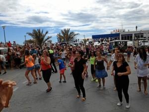 Más de 200 personas participaron en la actividad.