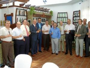 Díaz del Valle apuesta por la industria en Huelva.