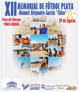 Cartel anunciador del Memorial 'Chico'.