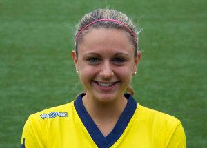 Verónica Napoli es delantera y procede del FC Twente de Holanda.