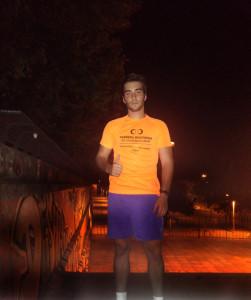 El onubense quiere participar en un triatlón el próximo año.