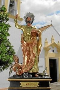 La procesión de San Bartolomé se celebra este lunes 24 de agosto. / Foto: Ayuntamiento de San Bartolomé.