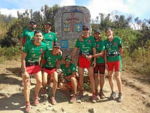 Los bartolinos han recorrido más de 300 kilómetros del Camino Francés.
