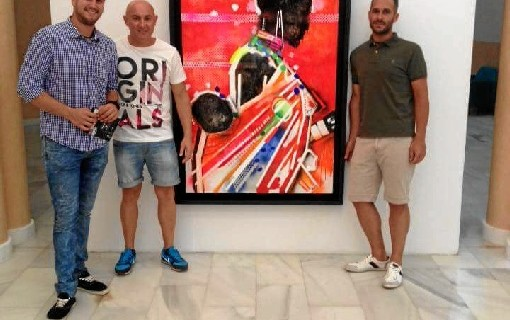 Últimos días para disfrutar de la obra del artista moguereño Miguel Rodríguez