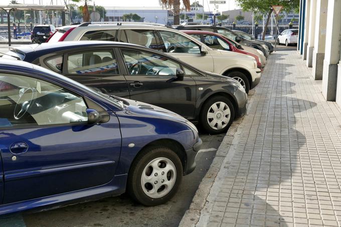 Suspendidos los pagos de los aparcamientos en el puerto de Ayamonte a la espera de estudiar mejoras en su regulación