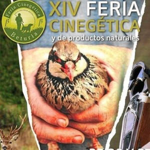 Cartel de la XIV Feria Cinegética y de Productos Naturales.