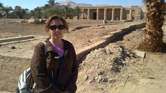 Una arqueóloga onubense aplica un nuevo método para conocer la relevancia de los elementos representados en tumbas egipcias