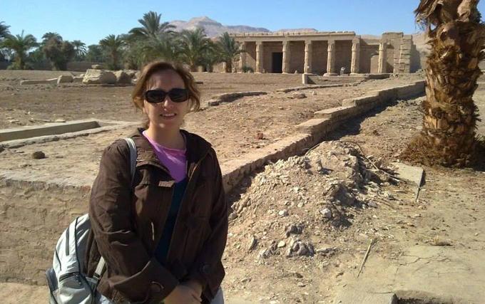 La egiptóloga Inés garcía.