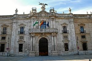 Imagen del Rectorado de la Universidad de Sevilla./ Foto: commons.wikimedia.org.