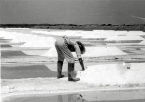 Antiguo cristalizador de sal en Salinas del Astur.
