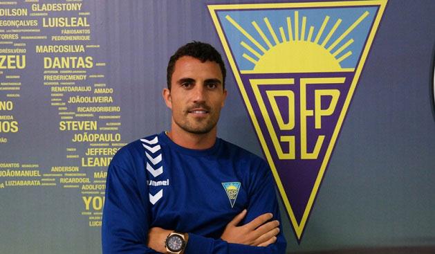 Arthuro, refuerzo para la delantero del Recre. / Foto: www.recreativohuelva.com.