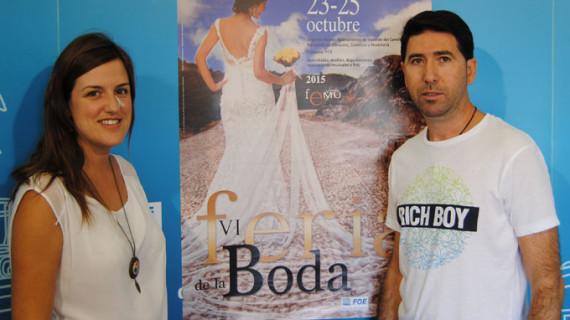 Valverde del Camino celebra la VI edición de su Feria de la Boda