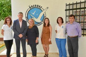 Visita a la Asociación de Autismo de Huelva 'Ánsares'.