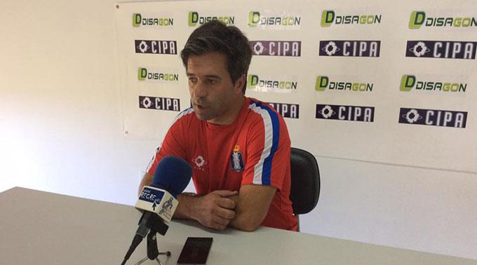 Jose Dominguez, técnico del Recreativo de Huelva.