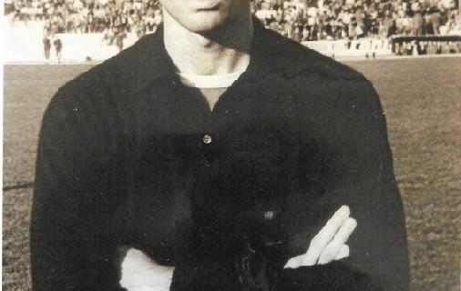 Romero, cancerbero del Real Club Recreativo de Huelva