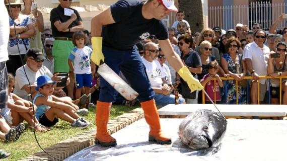 Isla Cristina se convierte estos días en capital mundial del atún y la pesca de almadraba
