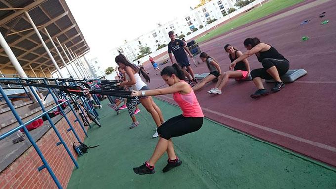 Fitness familiar, nueva propuesta de los Sábados Deportivos en Islantilla.