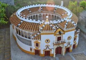 Al igual que para la mayoría de las edificaciones, para La Maestranza los materiales usados en esta construcción proceden del reciclaje.
