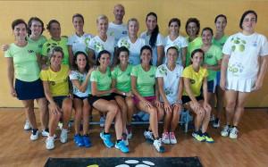 El equipo femenino de Huelva va a por todas al torneo.
