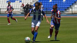 Las sportinguistas quieren plantar cara al Atlético este domingo. / Foto: www.sportingclubhuelva.com.
