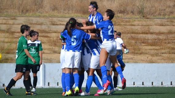 Gran victoria del Fundación Cajasol Sporting B en La Orden ante el Algaidas para seguir en el grupo de cabeza