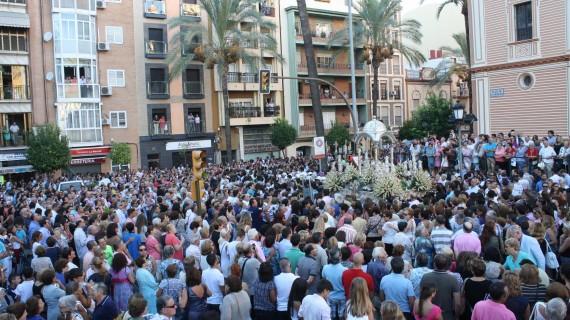 La capital onubense vivirá este 8 de septiembre el día grande de las Fiestas de la Virgen de la Cinta