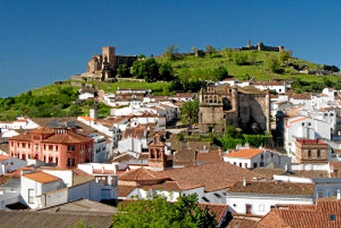 Vista de Aracena.