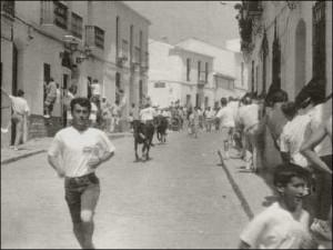 Las capeas fueron suspendidas entre 1959 y 1969./Foto: web Tierra de Pan.
