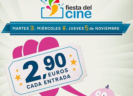 Los cines de Huelva se suman a una nueva edición de la 'Fiesta del Cine'