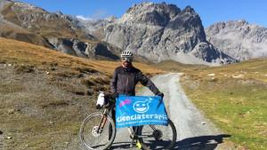 Continúa el reto de José María Beltrán en Los Alpes.