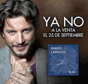 El nuevo single de Manuel Carrasco salió a la venta el pasado viernes.